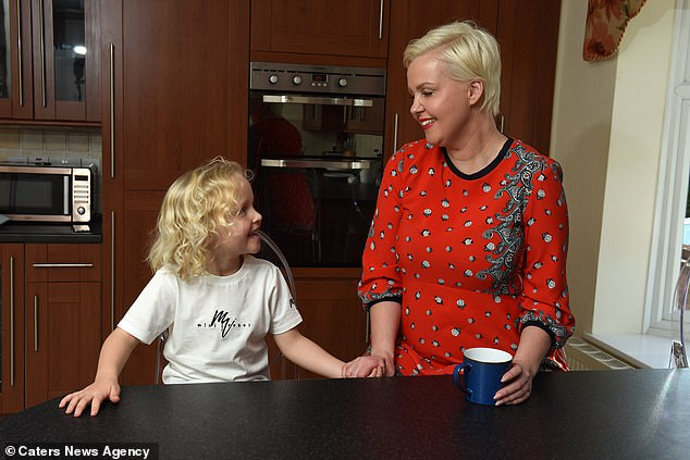 Vanessa (pictured with Seth)said it is only recently she has been able to really look back at everything she has come from, and this is the first time she has opened up about the death of her son