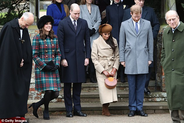 The Duchess of Sussex (then known as Meghan Markle) wascriticised for not curtsying low enough for the Queen at Sandringham in December 2017, five months before her wedding