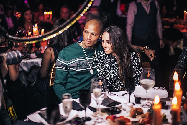 """""""Heat exchanged"""": the couple had a public row on February 19 at the Cavalli Club in Dubai (pictured) where Meeks ran out of the club, leaving Chloe alone"""