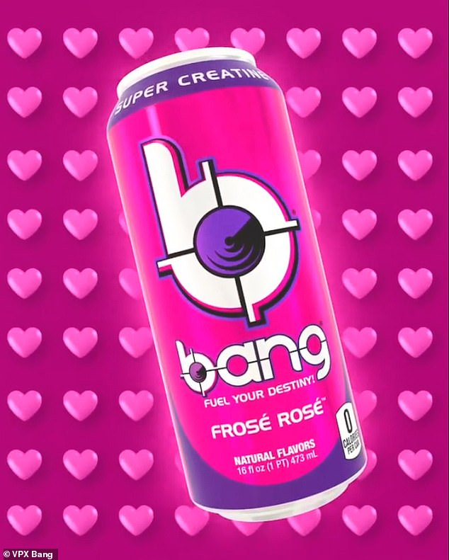Drink up!Bang Energy launched its newest flavor, Frose Rosé, on February 15