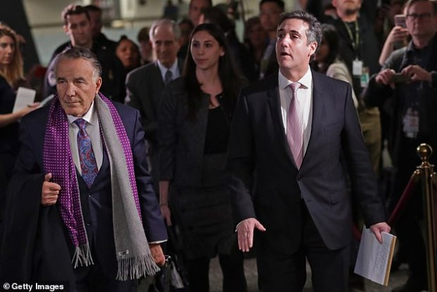 Cohen spoke to the Senate Intelligence Committee for nine hours on Tuesday
