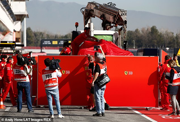 Everything had been running smoothly for Vettel until his weighty collision