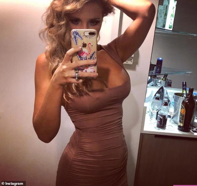 Alex Symons is now 69kg (10st 8lbs) and loves to share pictures in tight dresses and bikinis
