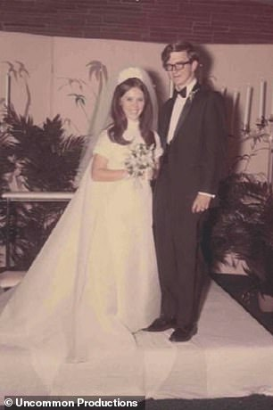 Jim married his first wife, Malinda, in 1969; they remained together for decades but his obsession with his cancer research eventually led to the demise of their marriage - though they remain close to this day