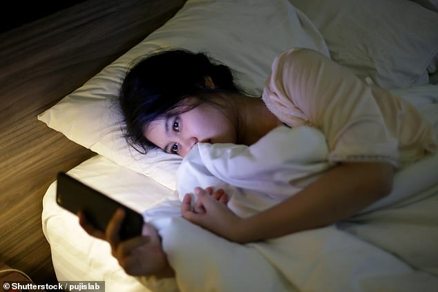 Studies have shown that social media use can cause sleep disturbances