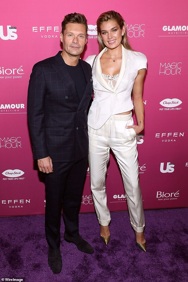 Not into being a groom?Ryan Seacrest split from Shayna Taylor because he was not ready to tie the knot, it has been claimed. Seen in September