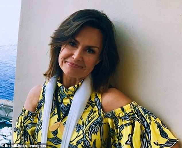 TV veteran Lisa Wilkinson (pictured) took to Twitter to offer her condolences, tweeting: 'So sorry to hear of the passing of Kerri-Anne Kennerley's husband John. Their love for each other was absolute. Never more so than in the years since John's tragic accident. Vale'