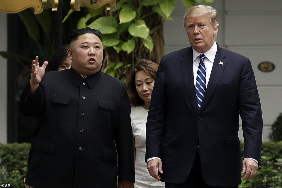 At one point after their first meeting Wednesday, the two men took a stroll by the hotel pool, with photographers ready to capture the moment