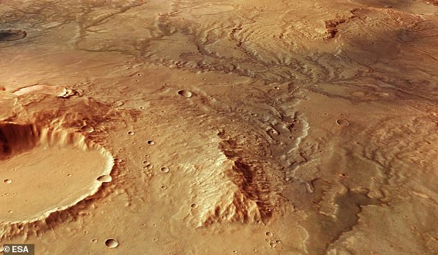 Mars missions hope to drill to approximately 2m and so having an Earth-based comparison will help identify potential problems and the interpretation of results. Here, Images of the surface of Mars taken by the European Space Agency