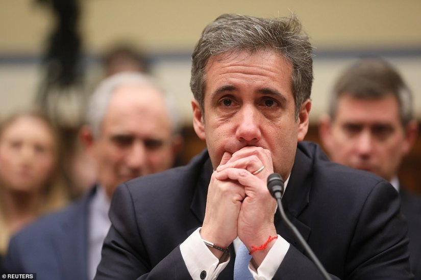 All eyes watching: Michael Cohen's