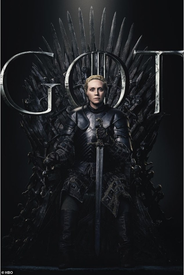 Choose:Dedicated fans were asked to pledge their allegiance to the long-running character they want to rule over the seven kingdoms in the end (Brienne Of Tarth)