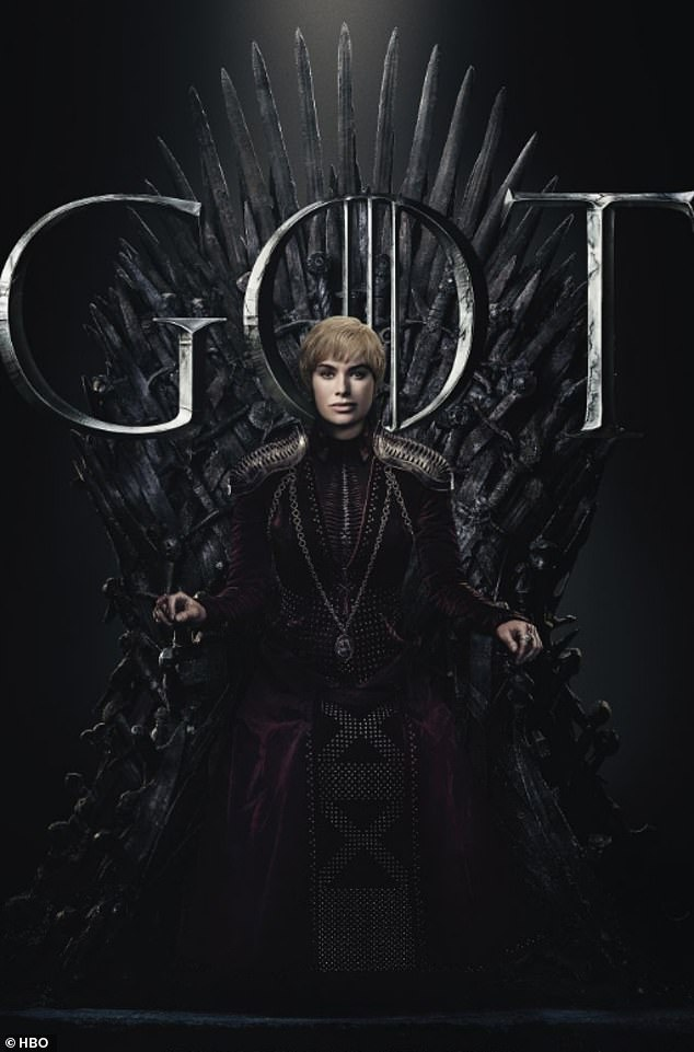 Pictured: Cersei (Lena Headey) was another powerful woman in competition to rule the seven kingdoms from the hot seat