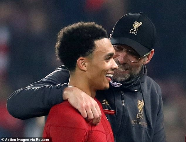 Jurgen Klopp was elated with his young full-back, who could be the difference vs Everton  SEE HOW LIVERPOOL CAN DESTROY EVERTON AHEAD OF PREMIER LEAGUE DERBY 10471536 0 image a 72 1551474270834