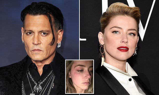 Johnny Depp sues ex-wife Amber Heard for $50million over abuse claims