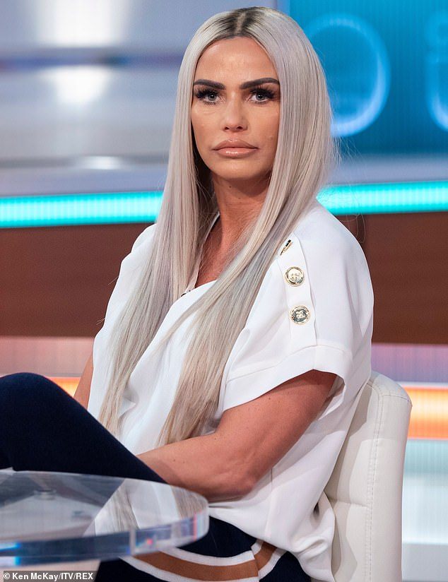 Cheesed off: Pete's appearance on GMB comes just a week after Katie appeared on the show, where she continued her angry tirade against him