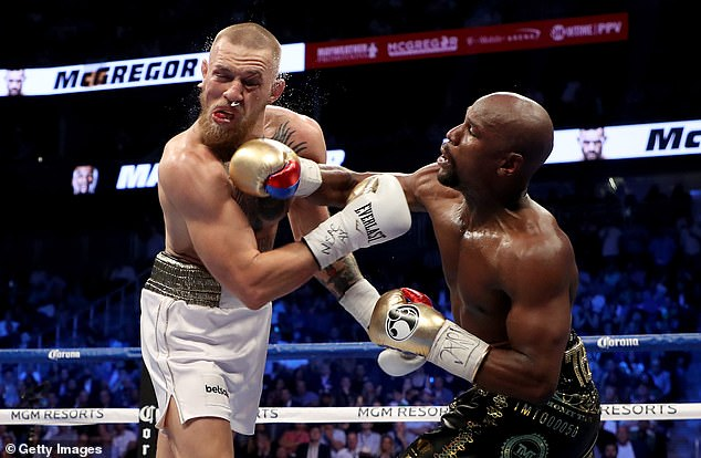 McGregor also looked back at the defeat against Floyd Mayweather on his boxing debut