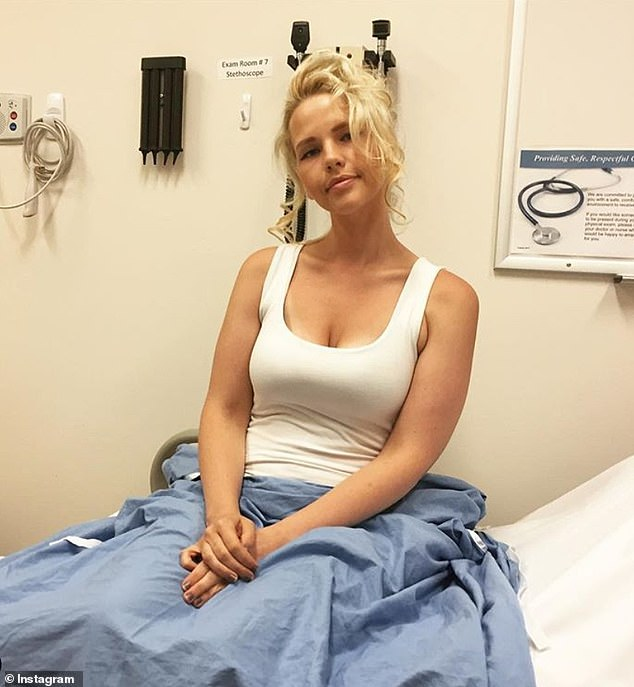 Amazing woman: Elly saw modeling as an opportunity to help others who are battling ovarian cancer and show them that they are still beautiful