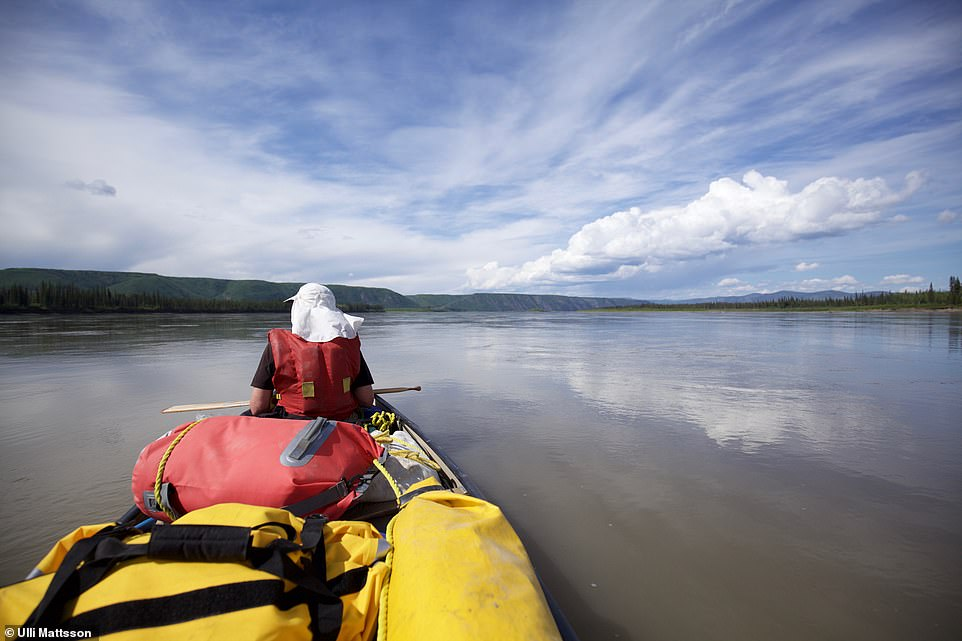 Adam revealed that he'd 'done next to no canoeing' when he sold the idea for his Yukon River expedition to a book publisher. Adding to the stress of things, he decided to embark on the trip - which would involve camping in the wild and battling extreme weather - with his girlfriend Ulli Mattsson