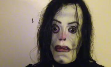 Michael Jackson 'Momo-style' video tells people a figure will enter their  room and scream 'Hee hee' | Daily Mail Online