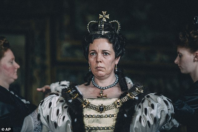 Sad: Sandi explained:'I still think that story needs to be told. I get so mad, I got really mad at The Favourite', where Olivia played the main character of Queen Anne