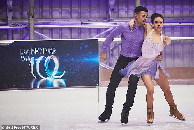 Finalist: While Megan is said to be devastated after learning of his alleged flirtations, Wes has credited their break-up for his success on DOI