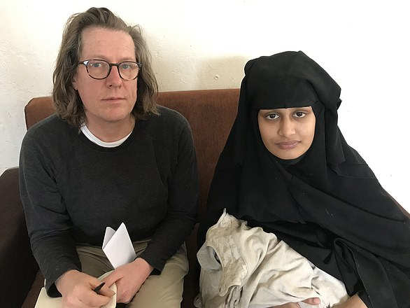 Ian Birrell interviewed Shamima Begum at al-Hol camp two days after the birth of her son
