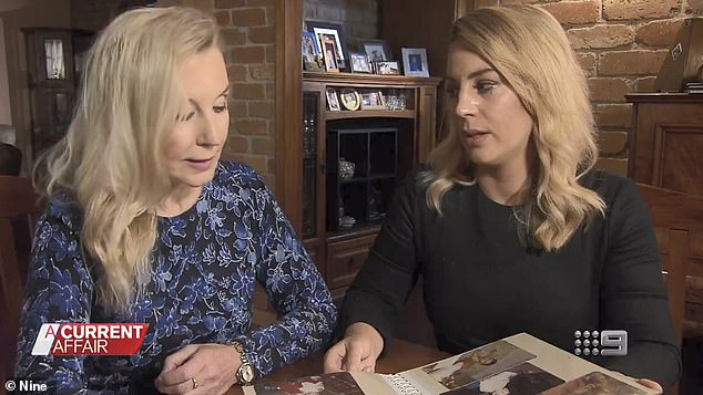 In June 2017, the TV reporter (right) bravely covered her own sister's death in a gut-wrenching interview with her mother Marie (left) for A Current Affair