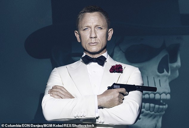 Oyewolo has shared a dressing room with the current James Bond, Daniel Craig