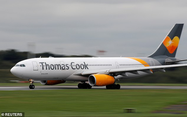 A spokesperson for Thomas Cook said that passenger safety was the airline's priority which forced the aircraft to return from its journey to Banjul (Stock photo)