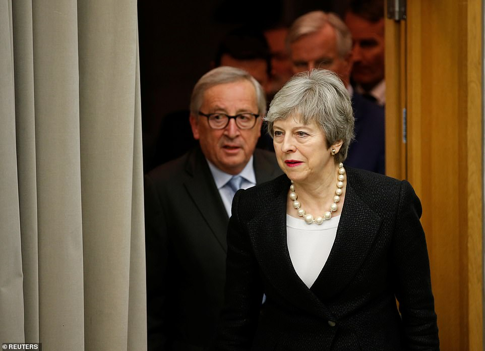The leaders attended a pres conference after their meeting to confirm that their had been an agreement over the backstop only being 'temporary'. Mr Juncker again denied that their would be anymore negotiations over the UK-EU deal when asked by a journalist