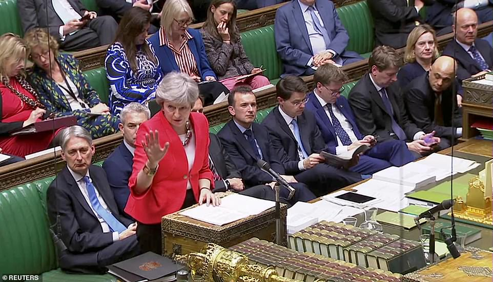 Theresa May insisted that her deal delivered the Brexit that people voted for in 2016 and MPs had a duty to vote it through