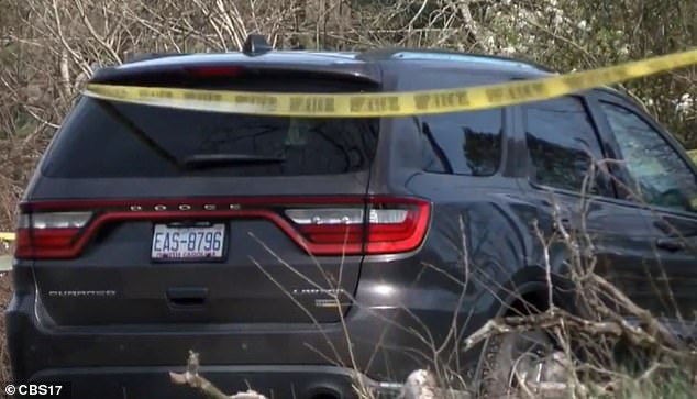 The mom's car was still parked on the driveway at the house after she disappeared