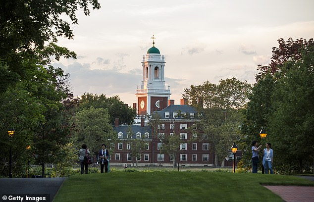 Golden's research revealed that Charles Kushner and his wife were members of Harvard's Committee on University Resources, a body made up of some of the university's most generous donors. Harvard Business School in Cambridge, Massachusetts, is seen above
