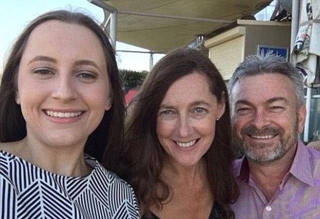 Court hearings revealed the family's dire financial situationwith details of Ms Ristevski's fashion store Bella Bleu floundering