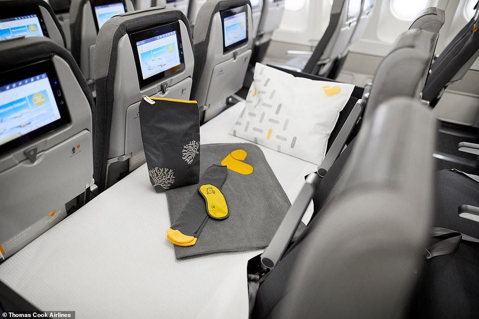 Thomas Cook launches lieflat seats in ECONOMY  Daily