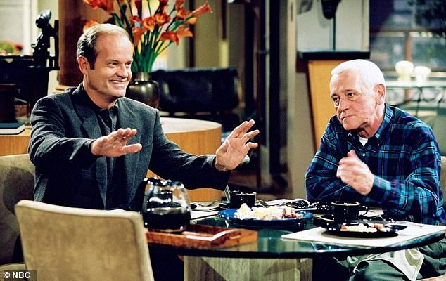 Homage: The American actor teased that the reboot will mirror the storyline that Frasier was based around when it first aired in 1993; namely Frasier's relationship with his father, Martin Crane, played by the late John Mahoney