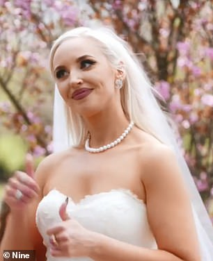 Natural beauty! MAFS bride Elizabeth Sobinoff reveals results of latest make-under as she ditches her signature dramatic makeup and blonde locks