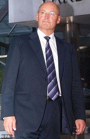Former Met Police boss Sir Paul Stephenson (pictured outside New Scotland Yard headquarters in London) believes the drop in the use of police stop and search operations is the result of unanalysed political correctness'