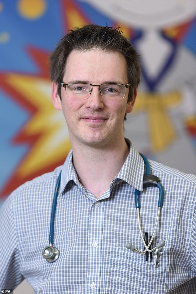 Dr Ben Reynolds, consultant paediatric nephrologist, at the Royal Hospital for Children in Glasgow, said Stephen's transplant is a landmark, being the 100th live kidney donation