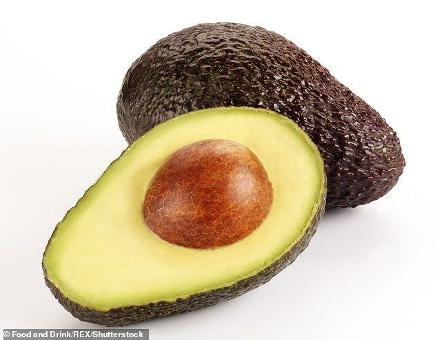 A new study from Penn State University found that an extract from an avocado seed reduced inflammation caused by macrophages, types of white blood cells (file image)