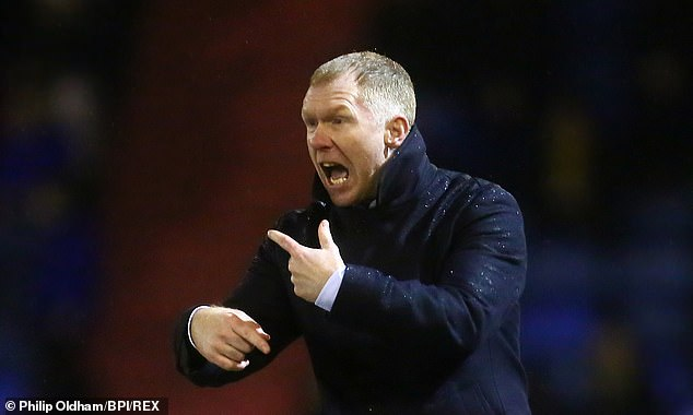 When Scholes was appointed on February 11, he insisted that he was looking forward to the job