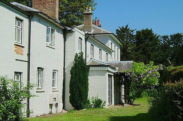 The shake-up comes as Harry and Meghan prepare for their move away from Kensington Palace to Frogmore Cottage (pictured) on the Windsor Castle estate