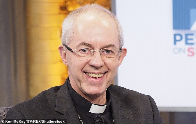 Archbishop Welby's latest remarks put him at odds with those in his church who believe the empire was a force for good as well as bad.He accused Christians who served the empire of carrying out 'many' murderous atrocities [File photo]