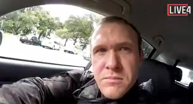 Terrorist Brenton Tarrant from Grafton, New South Wales, Australia, said he supported President Donald Trump as a 'symbol of renewed white identity and common purpose' in his sick manifesto