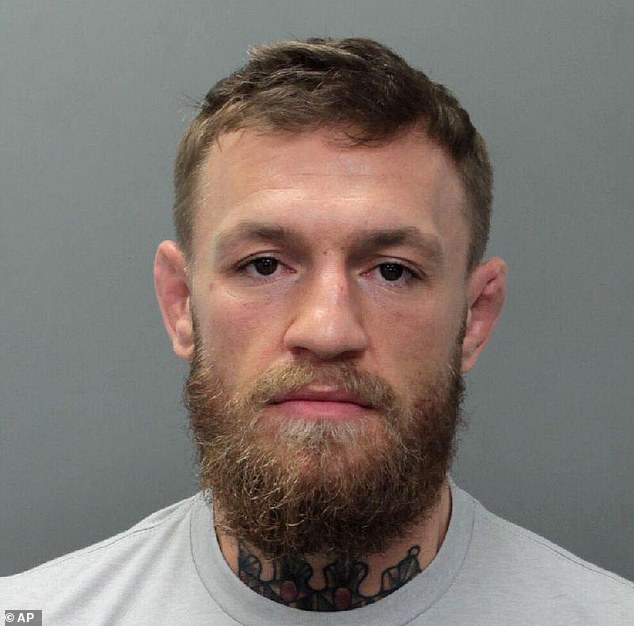 McGregor was arrested earlier this month after being accused of smashing up a fan's phone
