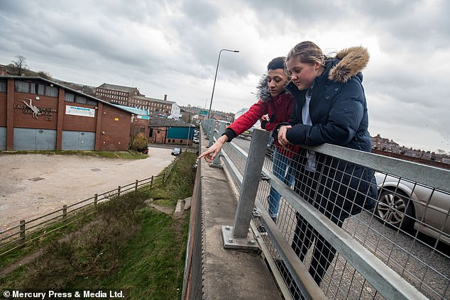The man, who had cuts on his hand and face, even threatened to unzip his coat to get Casey and Sanchez to let go. Sanchez and casey's mums both said she was 'so proud' of her son