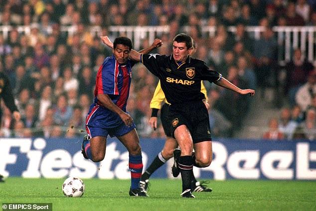 Manchester United drew Barcelona in the quarter-finals, evoking good memories