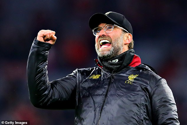 Jurgen Klopp insisted on a draw for Liverpool's quarter-final with Porto