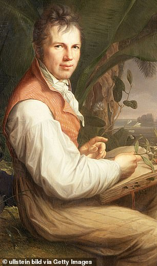 Mount Chimborazo climber Alexander von Humboldt was the younger brother of famed Prussian philosopher Wilhelm