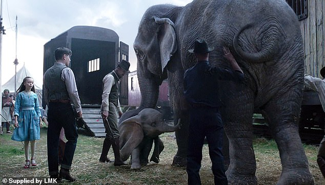 Bringing Dumbo to life took some doing, with the British visual effects firm Moving Picture Company behind Oscar-winner The Jungle Book adding in all the CGI elements after the scenes had been shot